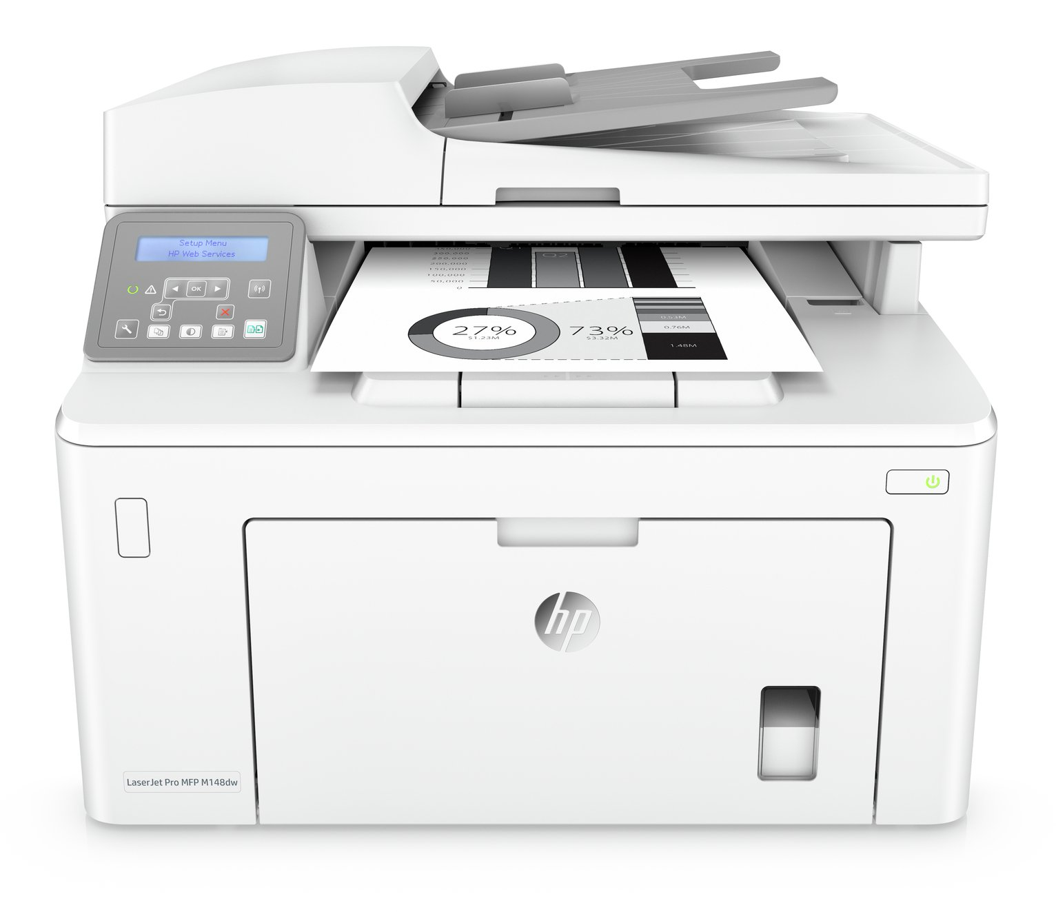 HP LaserJet Pro MFP M148DW Wireless Mono Laser Printer
