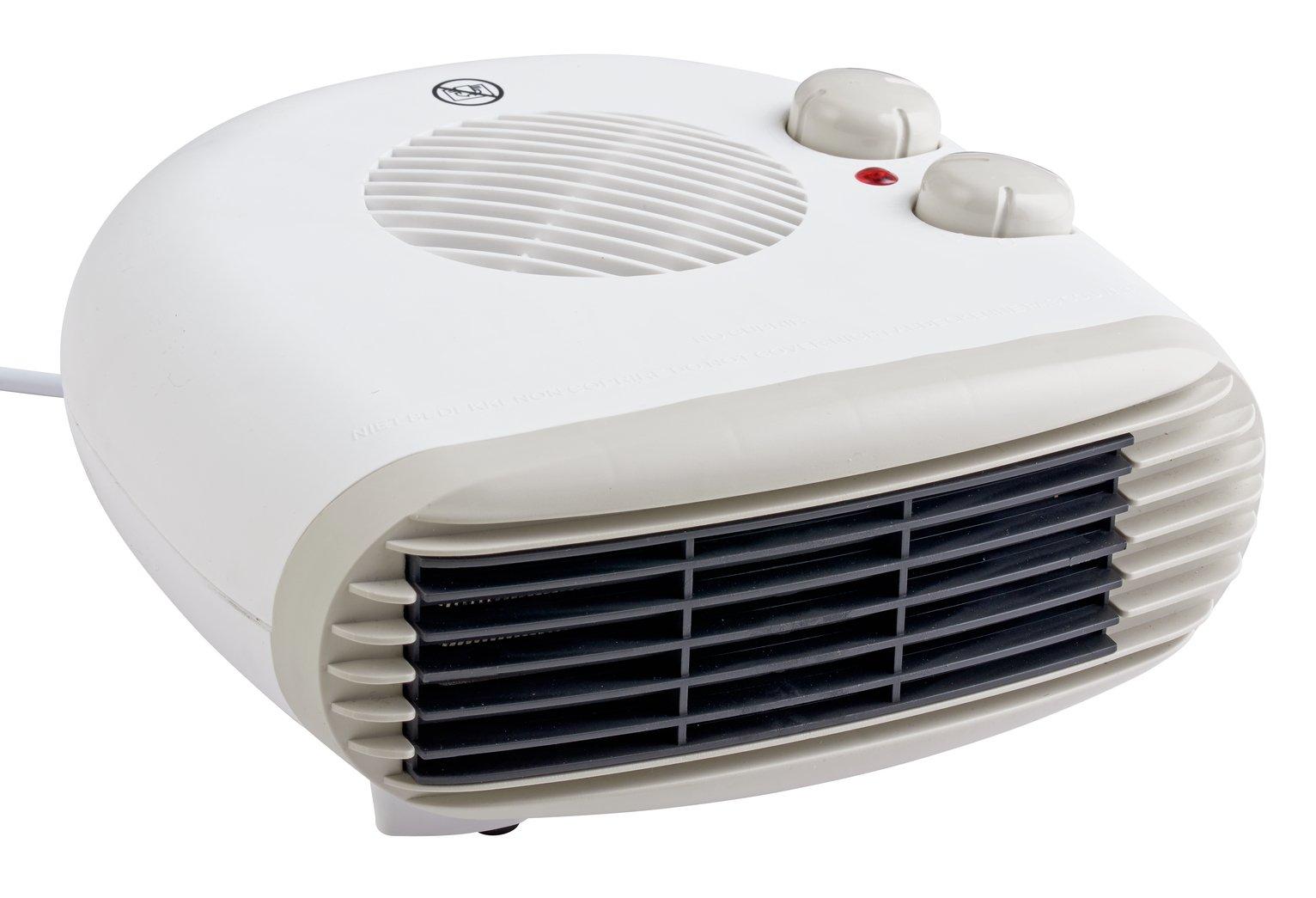 Challenge 2kW Flat Fan Heater