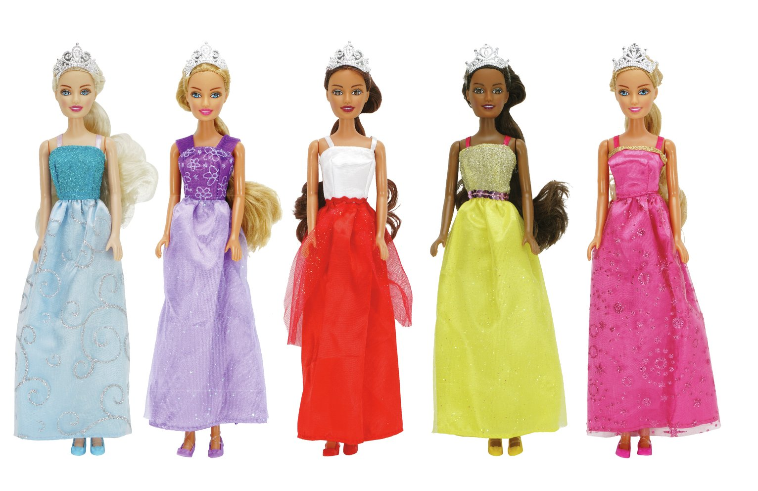 Chad Valley Sparkle Princess - 5 Pack