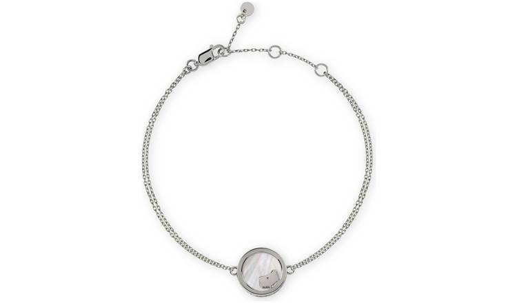 Radley London Stirling Silver Stone-Set Pearl Bracelet
