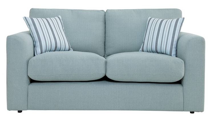 Buy Argos Home Cora 2 Seater Fabric Sofa Duck Egg Sofas Argos