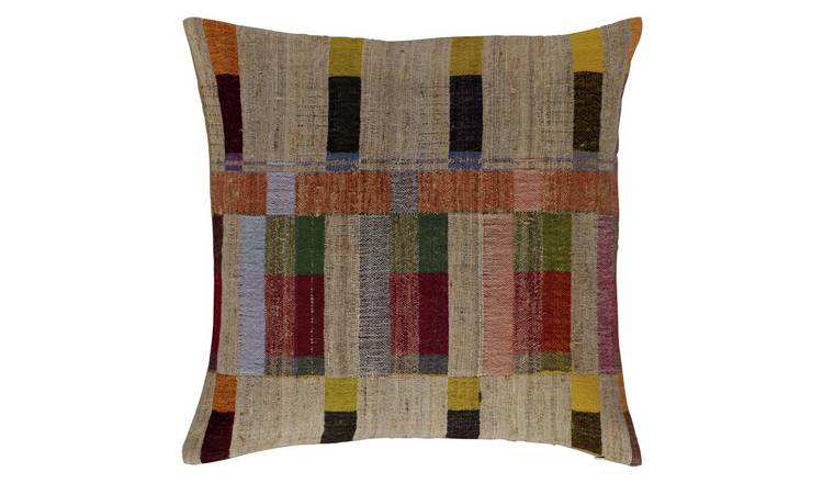 Habitat Edric Hand-Woven Cushion Cover - Multicoloured