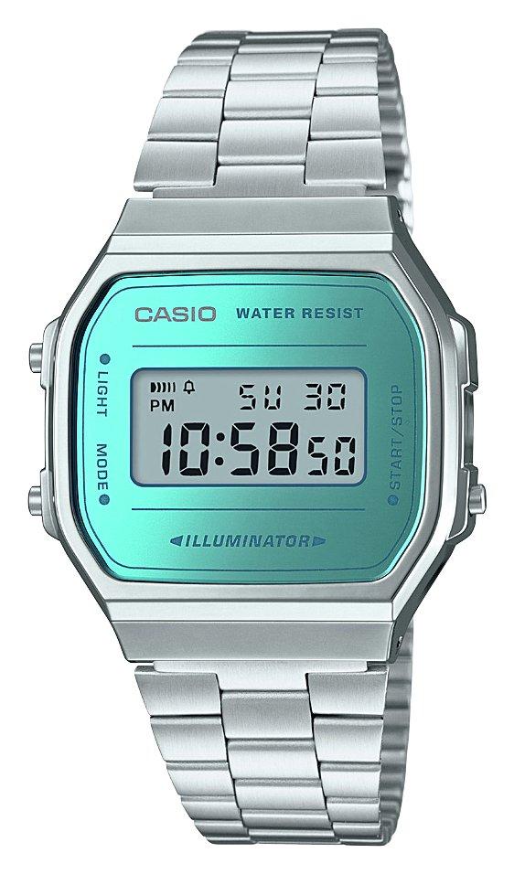 Casio Unisex Silver Stainless Steel Bracelet Watch