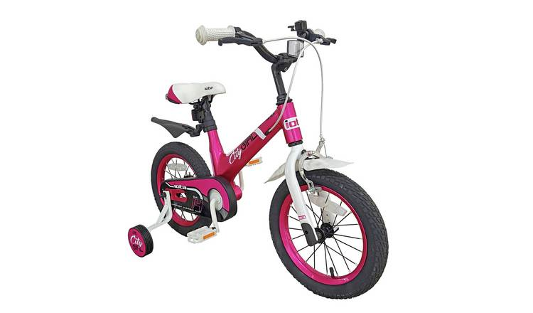 Iota City Girl 14 inch Wheel Size Kids Bike