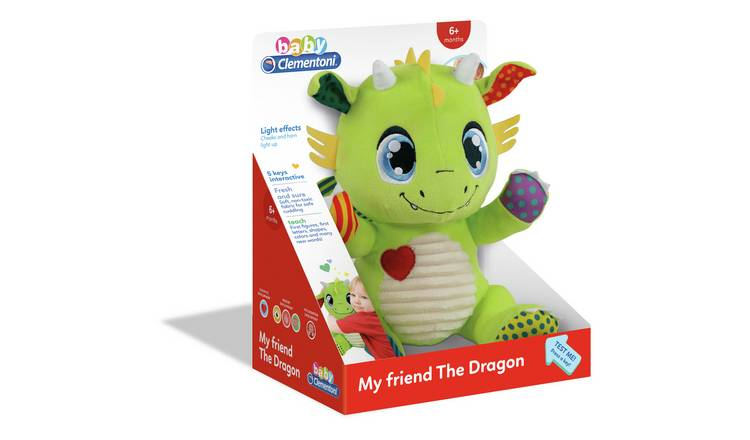 Baby Clementoni Dragon Soft Toy