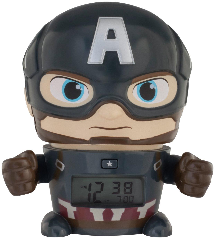 Bulbbotz Marvel Captain America Alarm Clock
