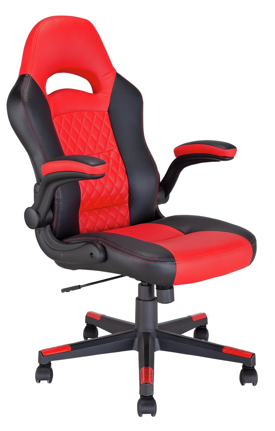 Argos Home Raptor Faux Leather Gaming Chair