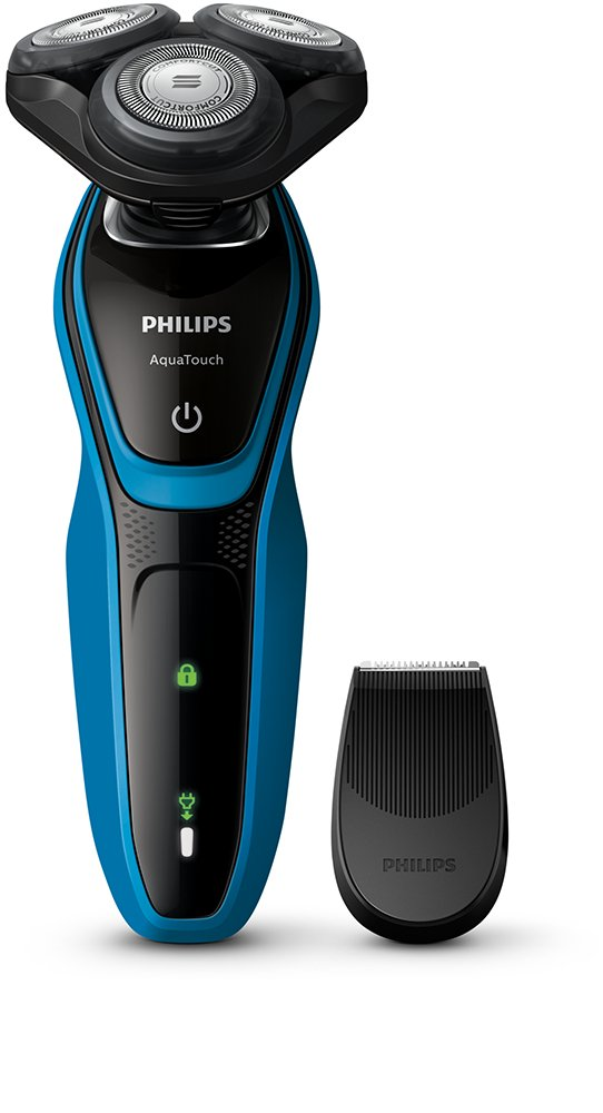 Philips Aquatouch S5050/04 Wet and Dry Electric Shaver