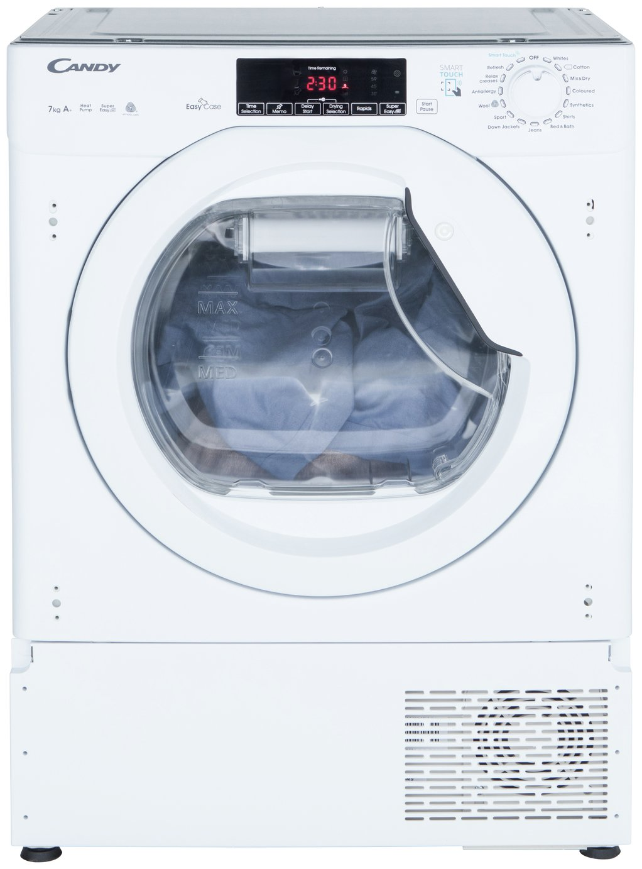 Candy CBTDH7A1TE Integrated Heat Pump Condenser Tumble Dryer