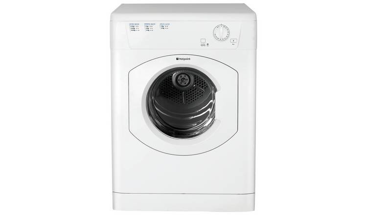 Hotpoint FETV60CP 6KG Vented Tumble Dryer - White