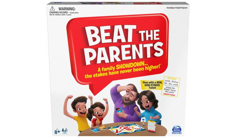 Spinmaster Games Beat the Parents Game