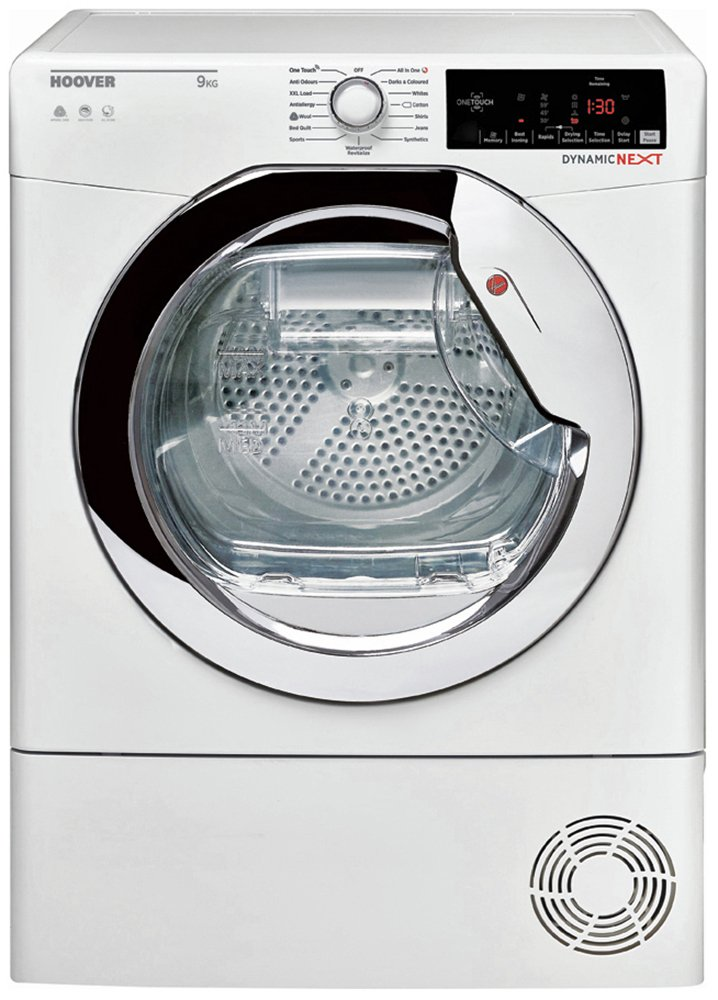 Hoover DCX 9TCE 9KG Condenser Tumble Dryer - White