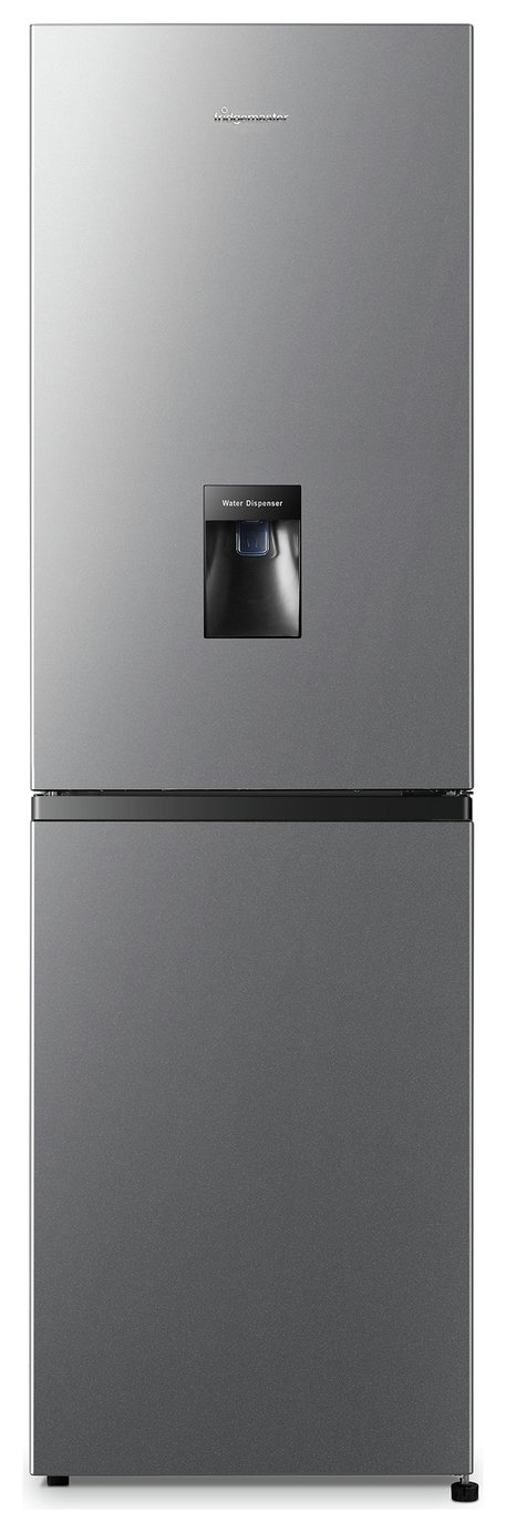 Fridgemaster MC55240MDS Fridge Freezer - Silver Best Price, Cheapest Prices