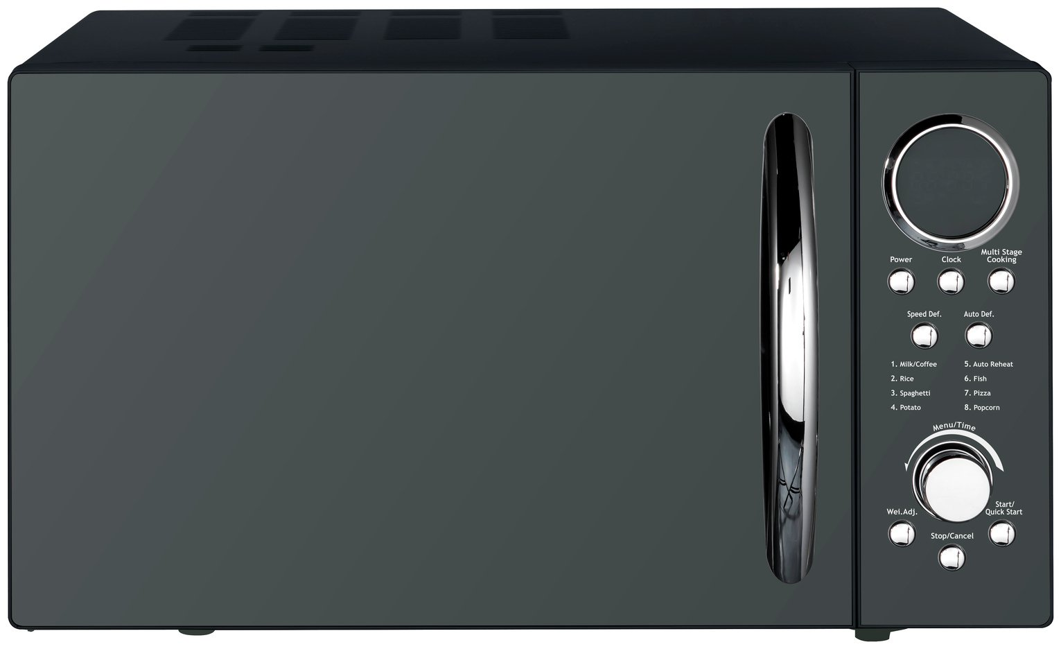 Morphy Richards 900W Standard Microwave P90D23EL-B8 - Black