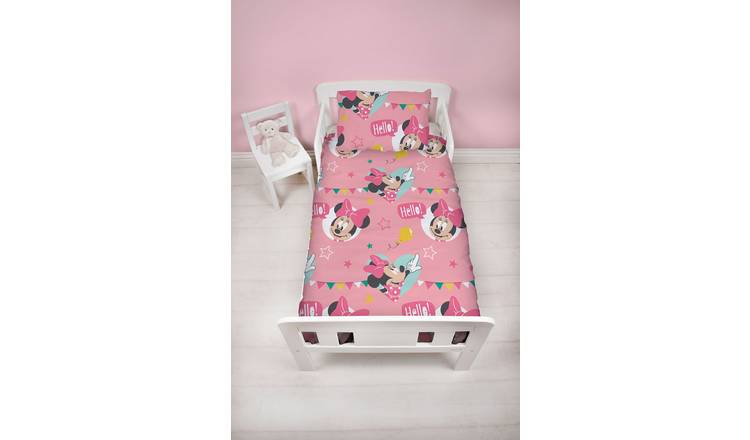 2 Piece 150x120cm Duvet Cover /& Pillowcase Set for Toddler Junior Cot Bed 7