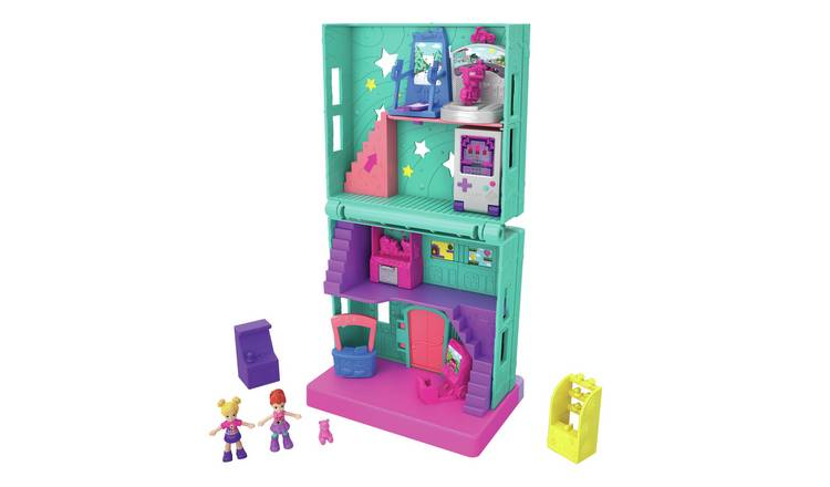 Polly Pocket Pollyville Arcade Playset