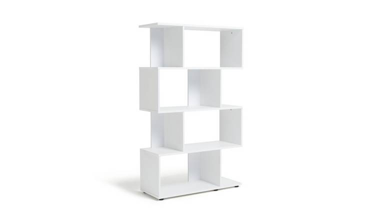 Argos Home Hayward 5 Shelf Bookcase - White