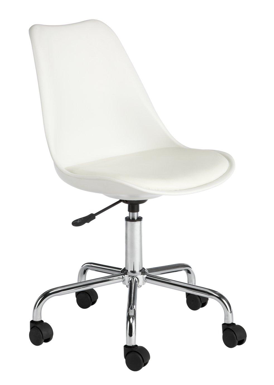 Habitat Ginnie Office Chair - White