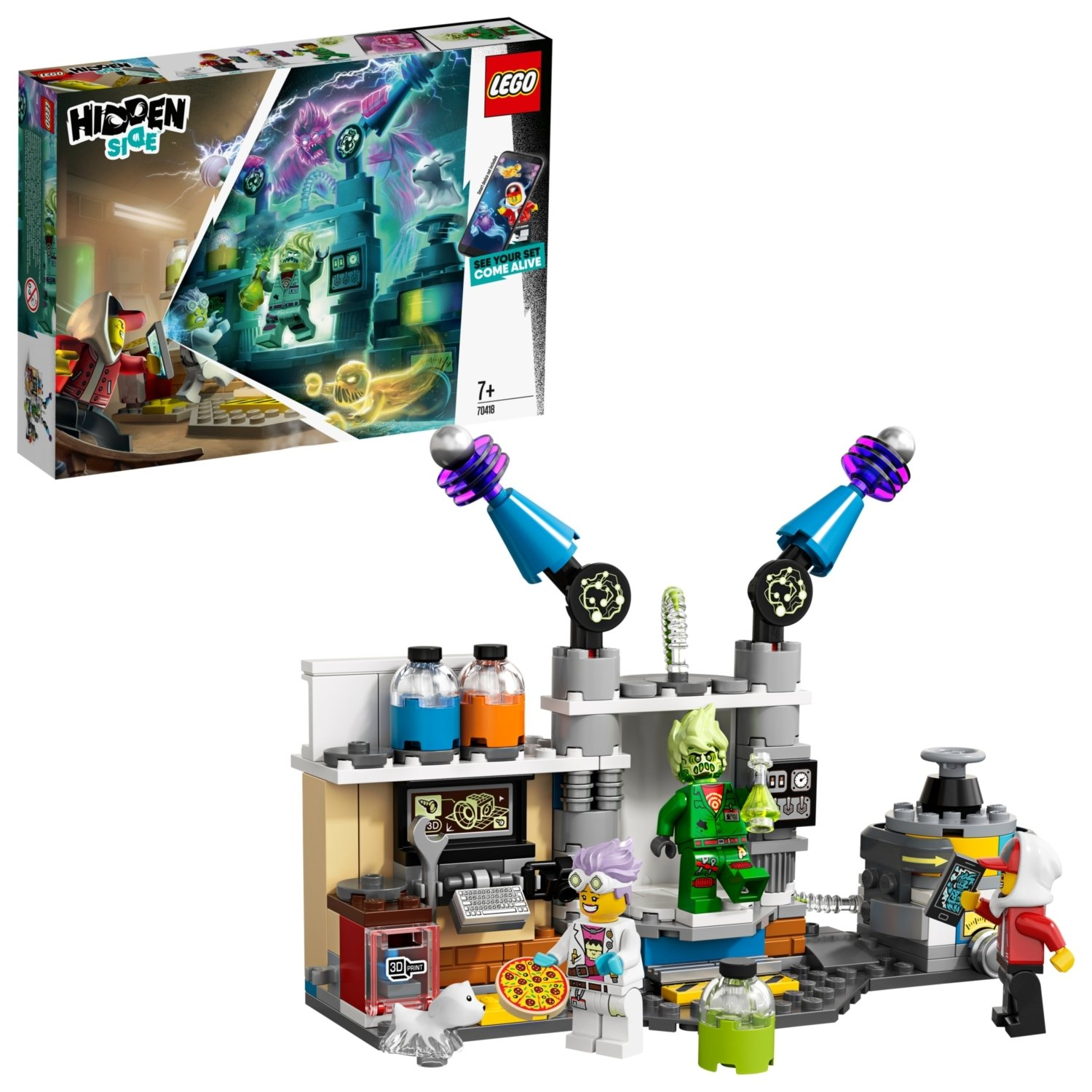 LEGO Hidden Side J.B.'s Ghost Lab Set - 70418