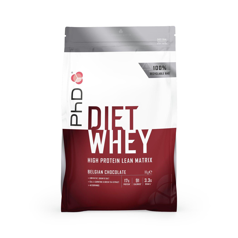PhD Belgium Chocolate Diet Whey - 1kg