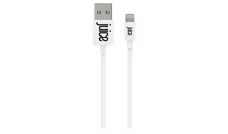 Juice USB to Lightning 1m Charge Cable - White