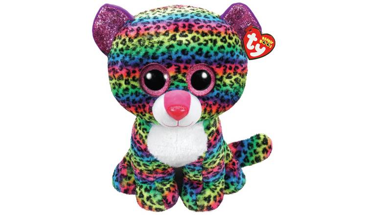 Large Beanie Dotty Soft Toy