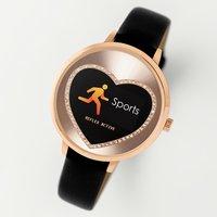 Reflex Active Series 3 Ladies Black Strap Smart Watch