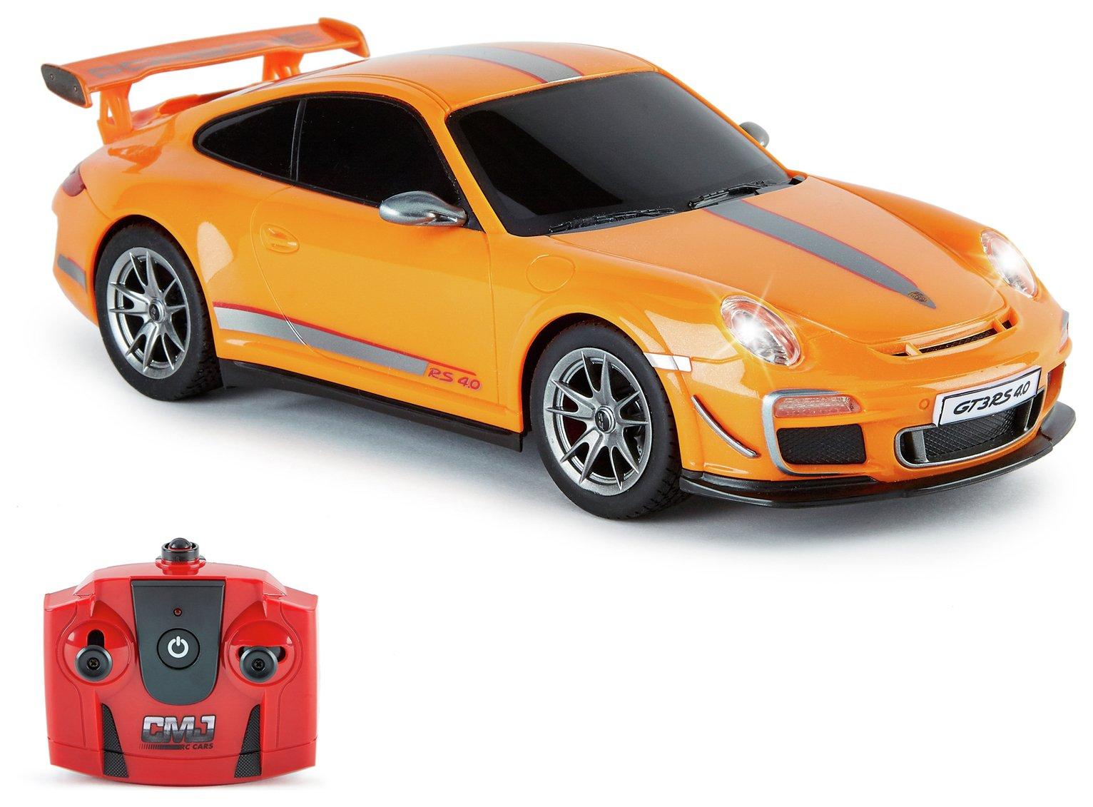 Radio Controlled Porsche 911 Scale 1:18 - Orange 2.4GHZ