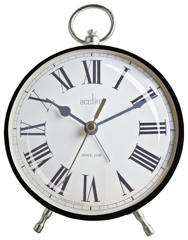 Acctim Harris Fob Alarm Clock - Black