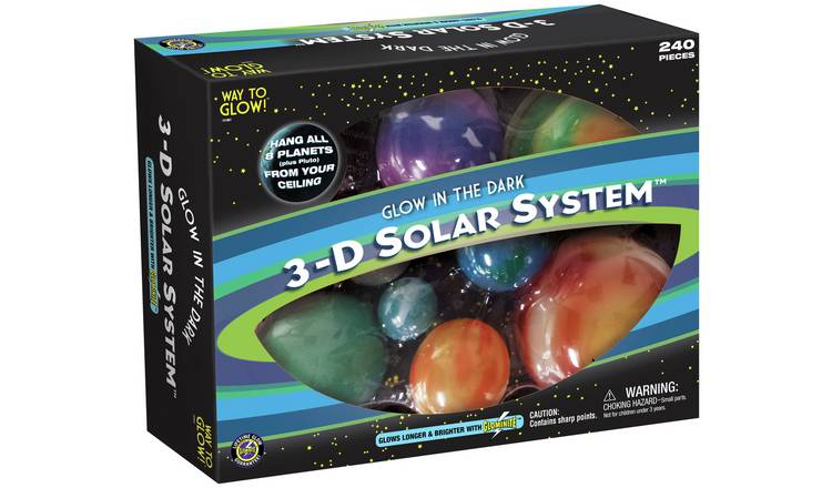 Great Explorations Glow in the Dark 3D Solar System