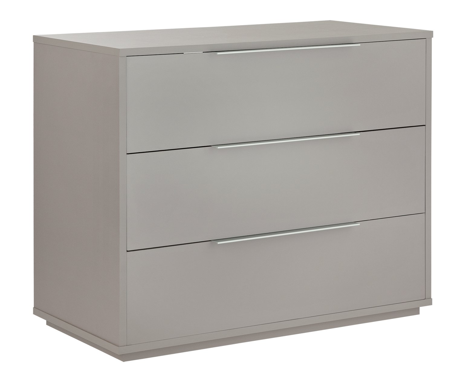 Argos Home Holsted Grey Gloss 3 Drawer Chest