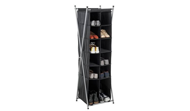 Argos Home 7 Tier X Frame Shoe Rack