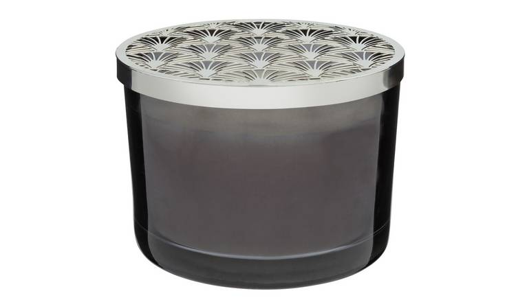 Argos Home Palm Luxe Candle with Metal Lid