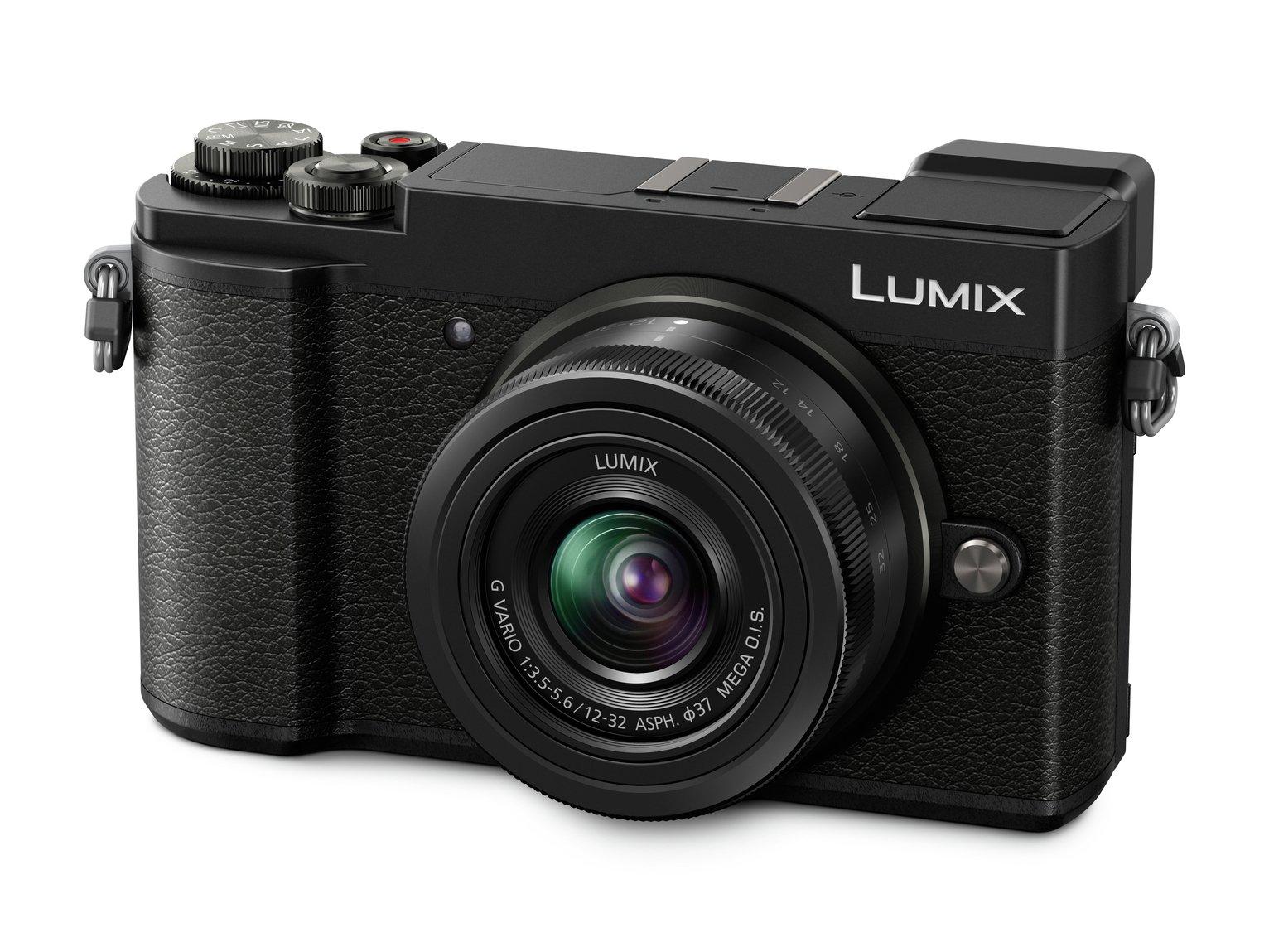 Panasonic LUMIX DC-GX9KEB-K Compact System Mirrorless Camera with 12-32 mm Lens - Black