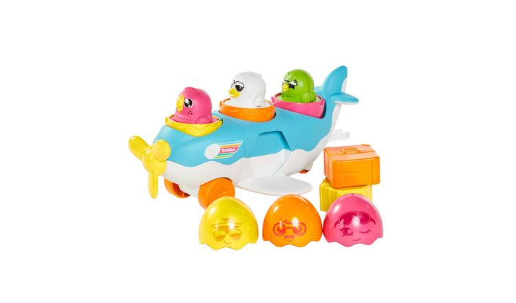 TOMY Toomies Hide & Squeak 2 in 1 Load & Go Plane