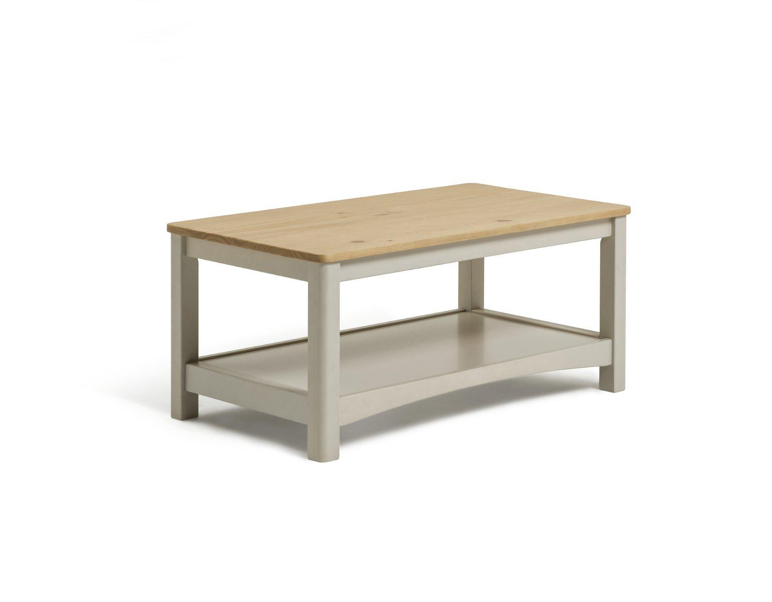Argos Home Bournemouth Coffee Table - Light Grey