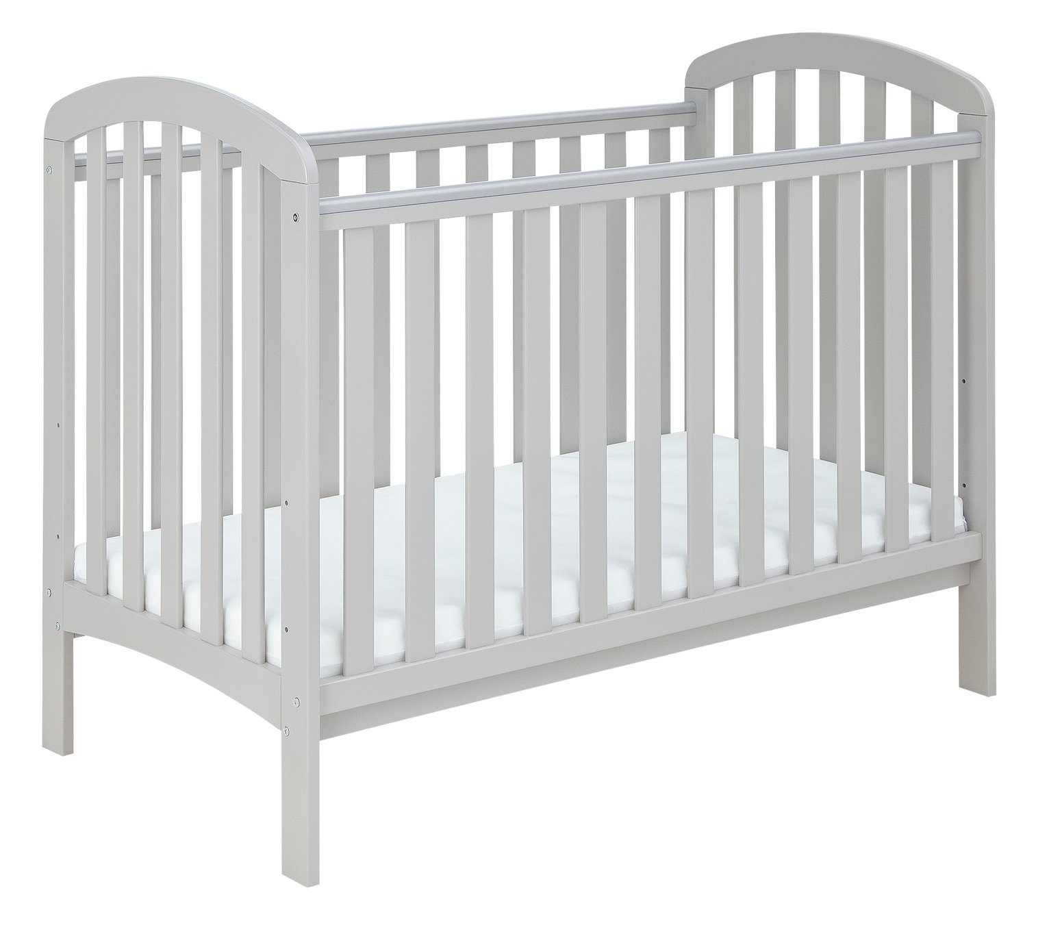 Cuggl Austin Cot with Changer Top - Grey