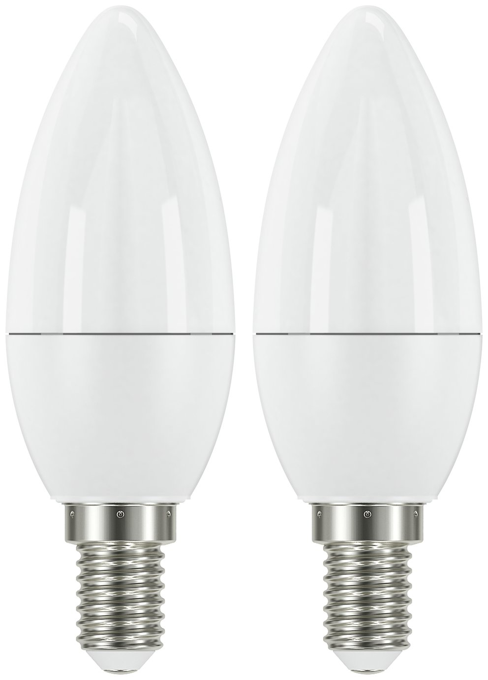 Argos Home 3W LED SES Frosted Candle Light Bulb - 2 Pack