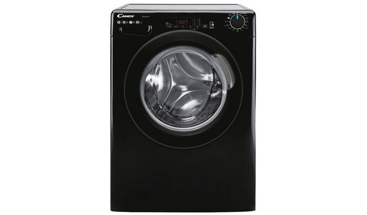 Candy CS 148TBBE 8KG 1400 Spin Washing Machine - Black