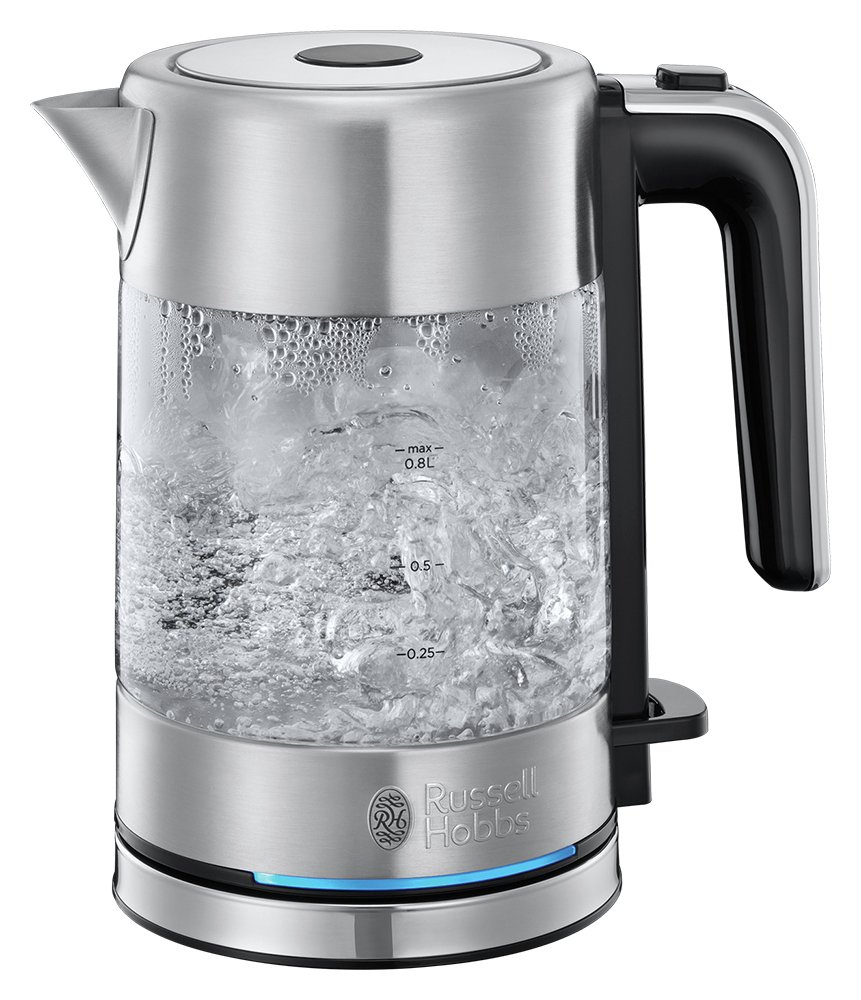 Russell Hobbs 24191 Compact Kettle - Glass