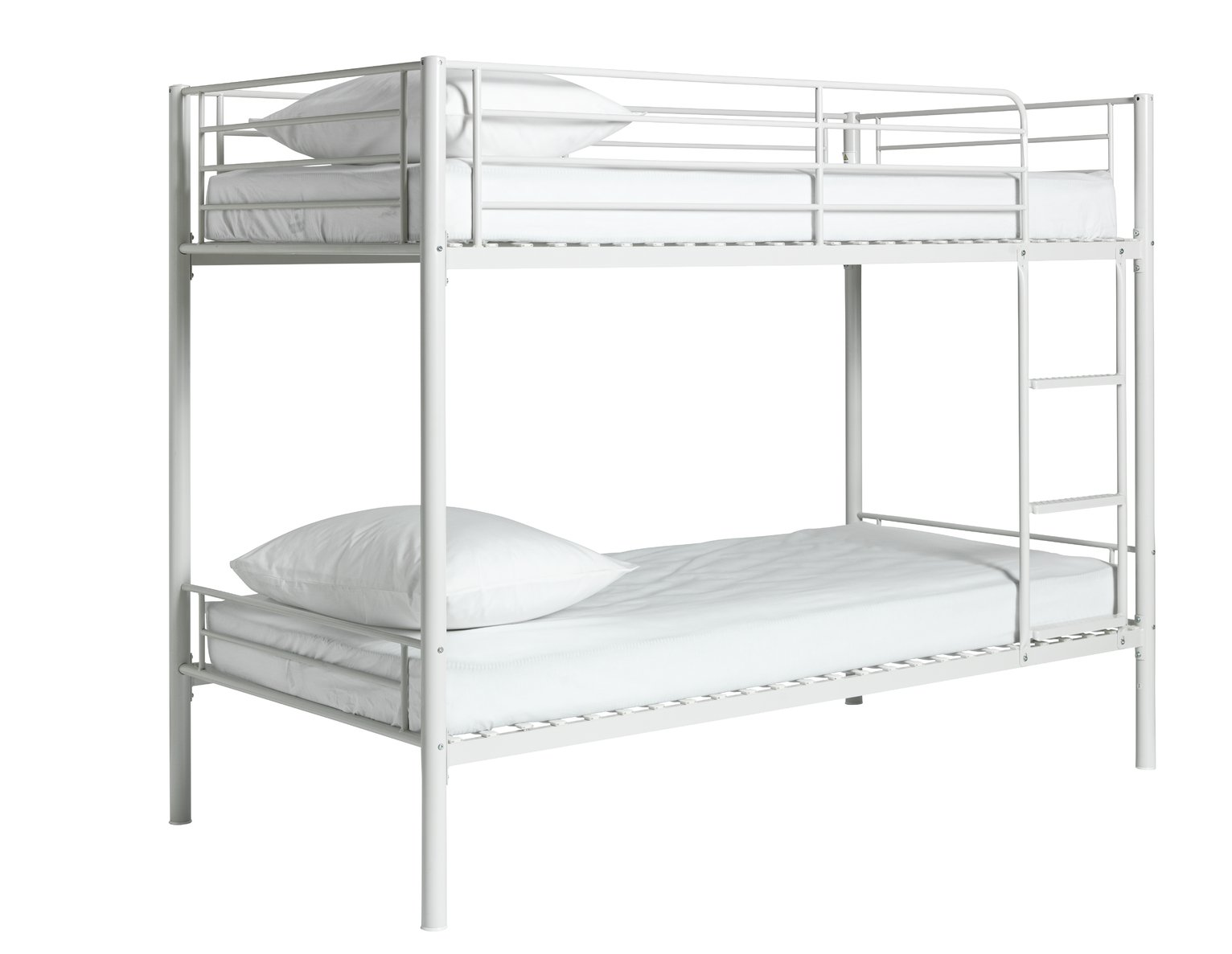 Argos Home Mason White Metal Bunk Bed Frame