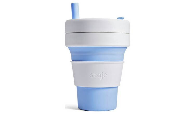 Stojo Biggie Sky Collapsible Cup - 470ml