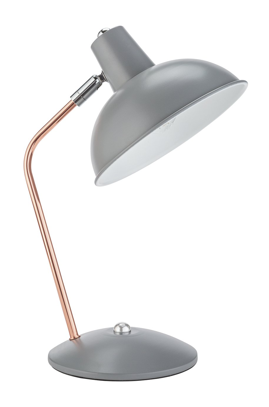Argos Home Scampton Task Lamp - Copper & Grey