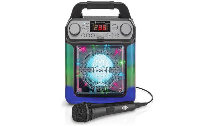 Singing Machine Groove Mini 4W Bluetooth Karaoke Machine