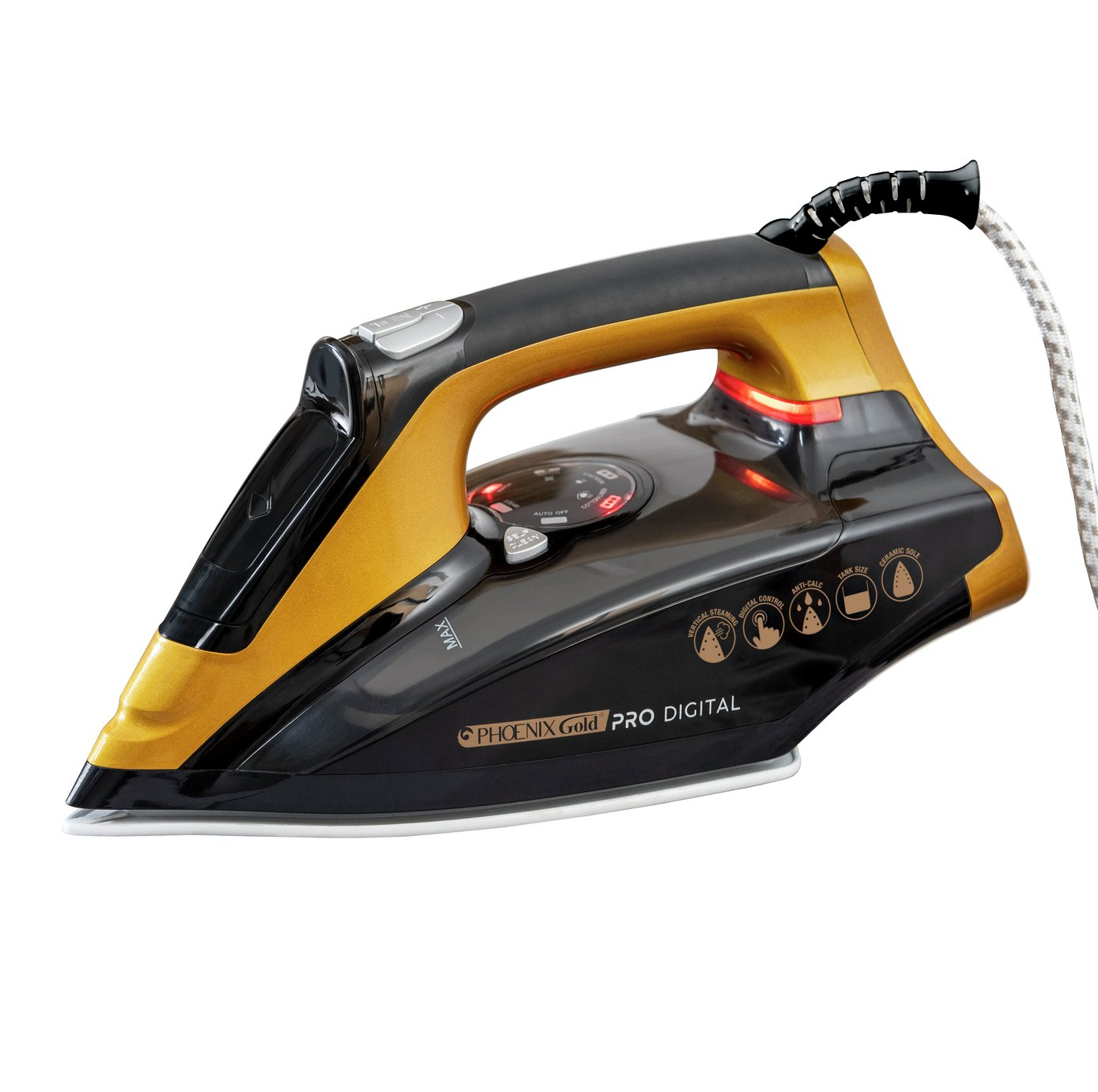 JML T-622P Phoenix Gold Pro Digital Steam Iron
