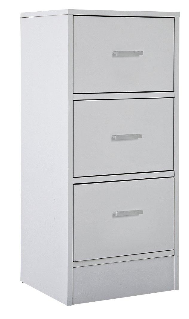 Argos Home Prime 3 Drawer Unit - White