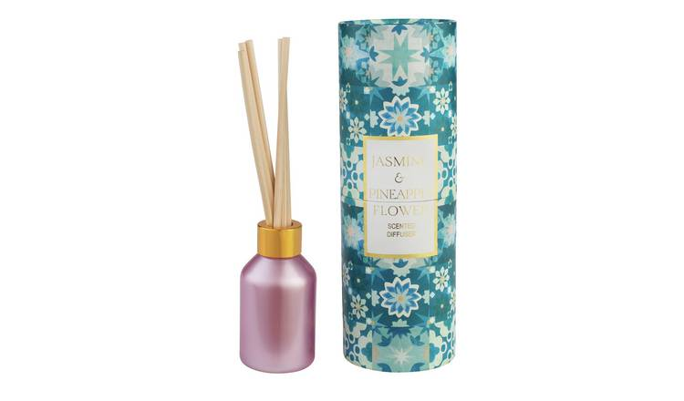 Argos Home 100ml Reed Diffuser - Jasmine & Pineapple