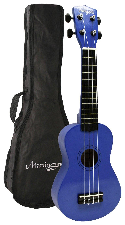 Martin Smith Soprano Size Ukulele - Blue