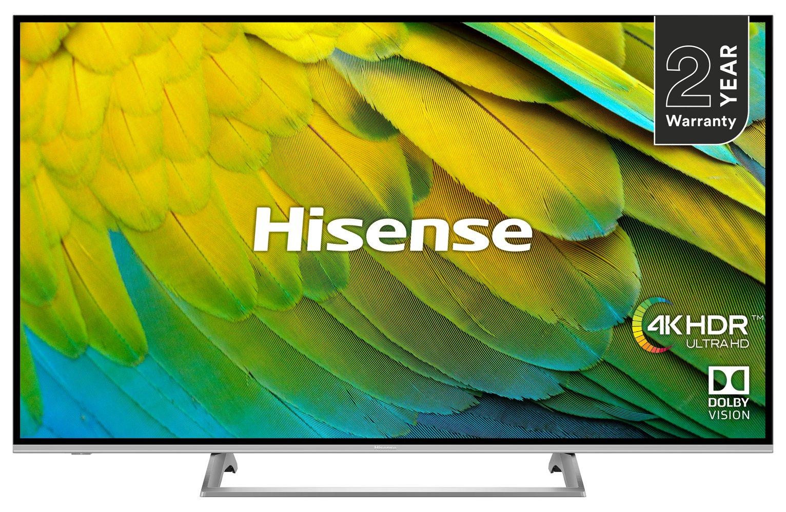 Hisense 55 Inch H55B7500UK Smart 4K HDR LED TV