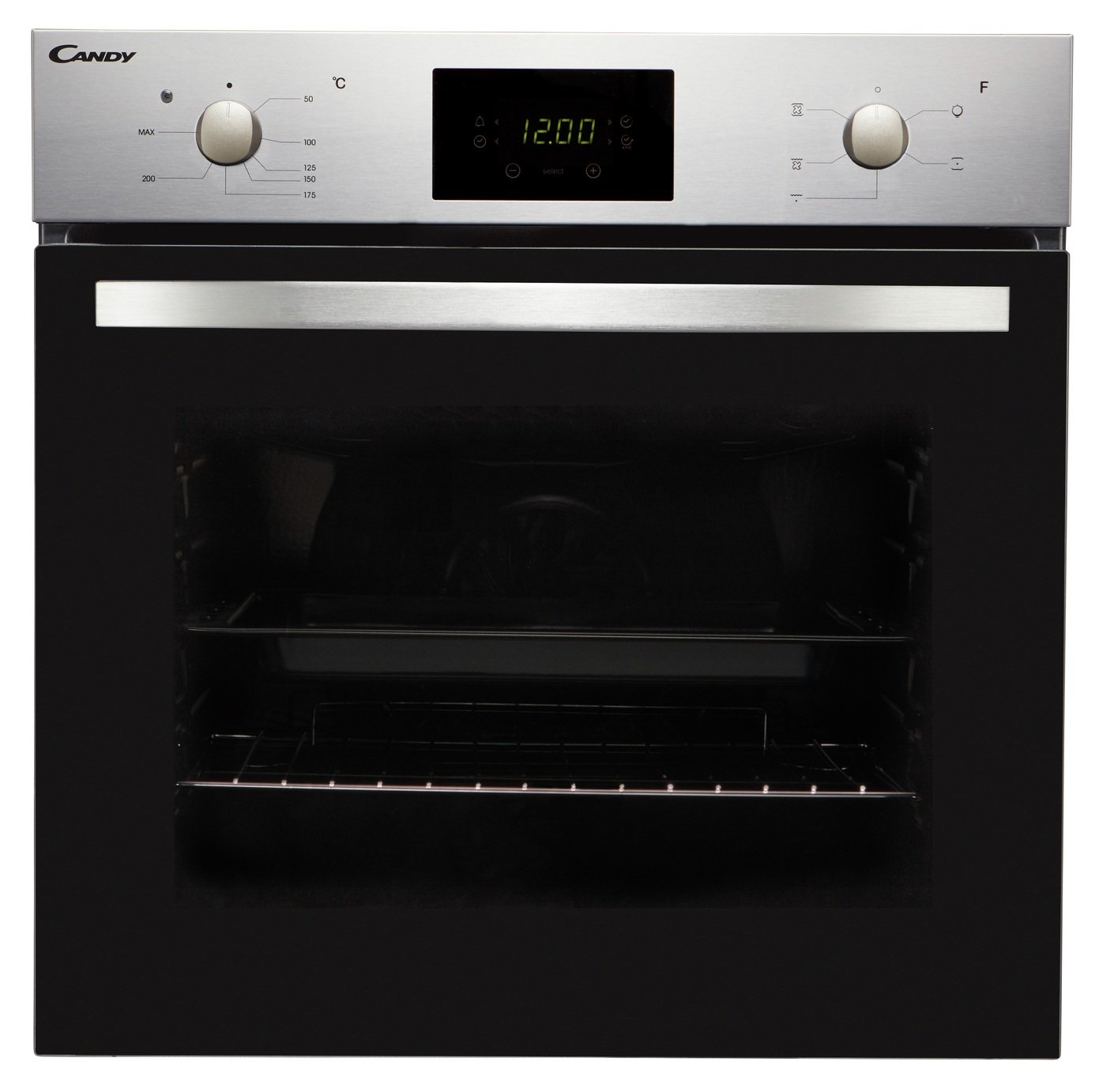 Candy FCS605X/E Single Multifunction Oven - Stainless Steel